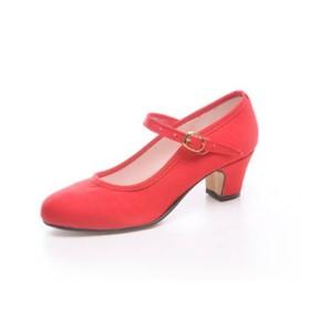 "Zapato de baile flamenco Faralaes ""Gitanilla"" con 1 hebilla"