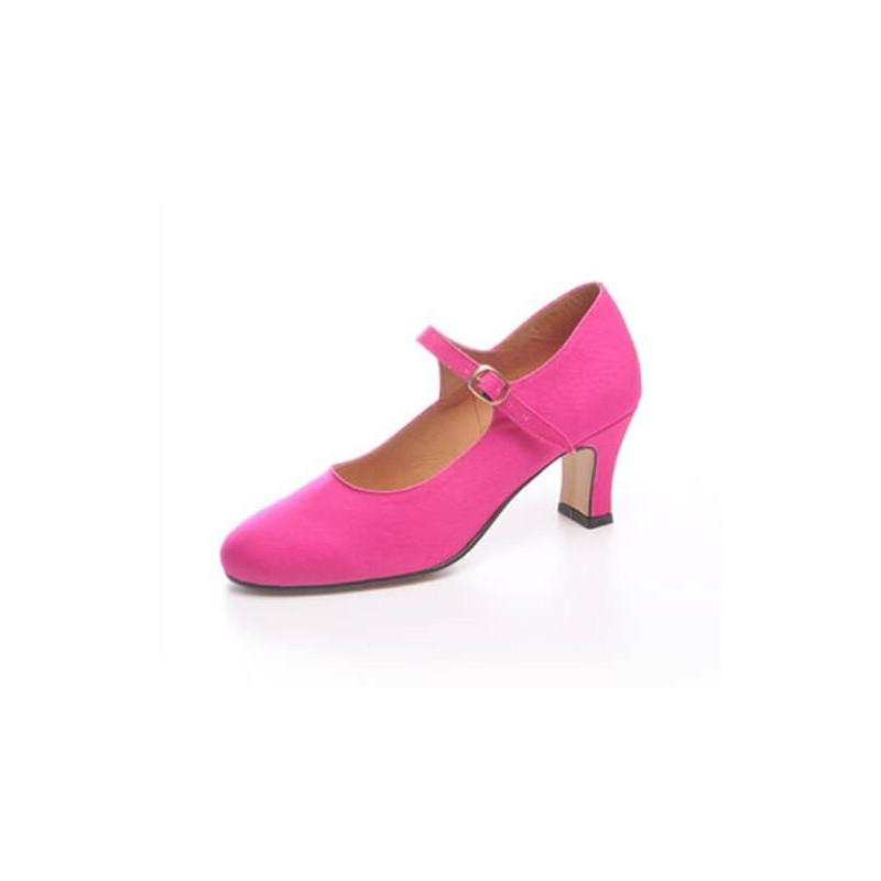 """Zapato de baile flamenco Faralaes """"Salón"""" con 1 hebilla"""
