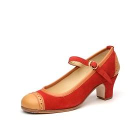 Zapato de baile semiprofesional modelo Soleá