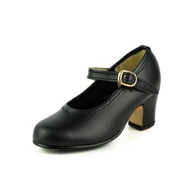 Zapato de baile iniciado modelo Clásico Español con 1 hebilla