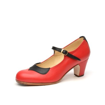 Zapato de baile flamenco modelo Tormenta