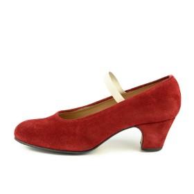 Zapato de baile semiprofesional modelo Tanguillo