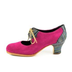 Zapato de baile profesional modelo Garrotín Cordones