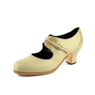 Zapato de baile profesional modelo Garrotín Fantasía