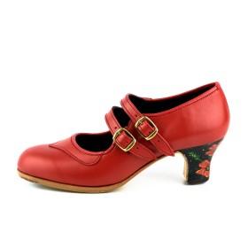 Zapato de baile profesional modelo Isabel Tacón Pintado