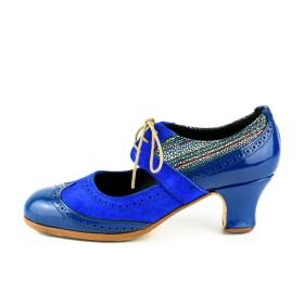 Zapato de baile profesional modelo Yerbabuena