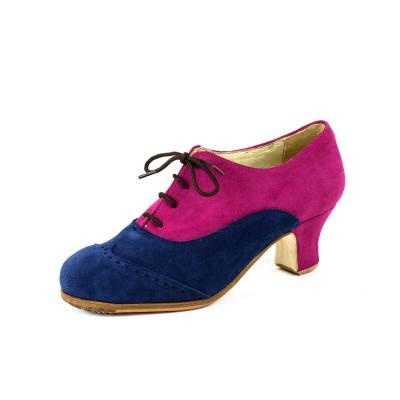 Zapato de baile semiprofesional modelo Seguirillas Combinado