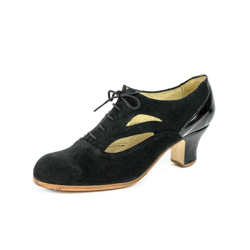 Zapato de baile semiprofesional modelo Tierra Combinado