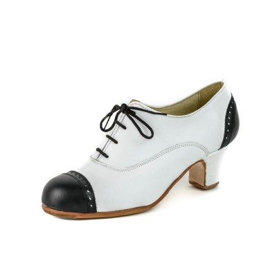 Zapato de baile semiprofesional modelo Triana Combinado
