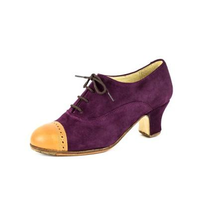 Zapato de baile semiprofesional modelo Zambra Combinado