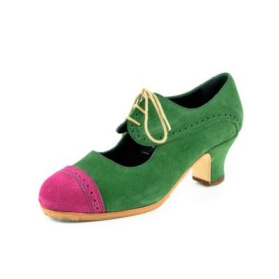 Zapato de baile semiprofesional modelo Compás Combinado