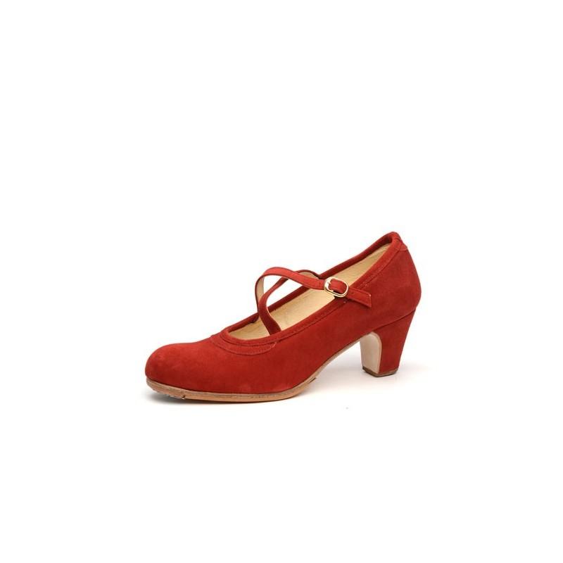 Zapato de baile profesional modelo Cordobesa con 1 hebilla