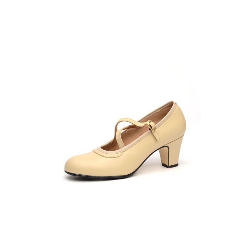 Zapato de baile semiprofesional modelo Cordobesa con 1 hebilla