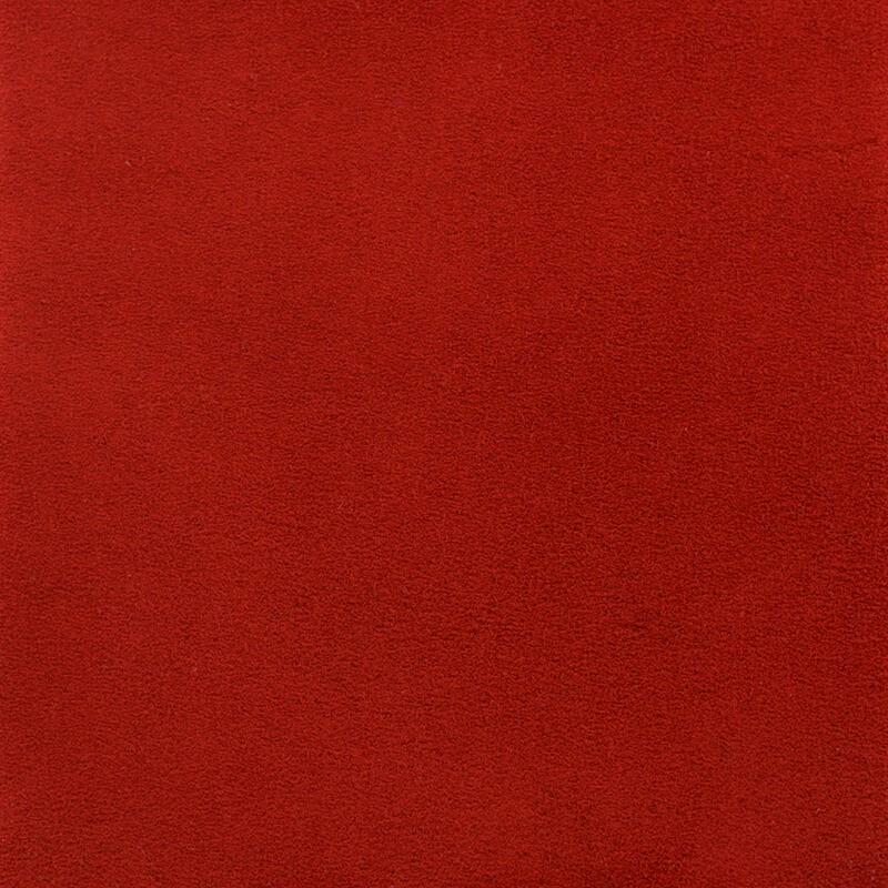 Ante afelpado Rojo